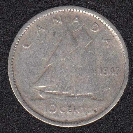 1942 - Canada 10 Cents