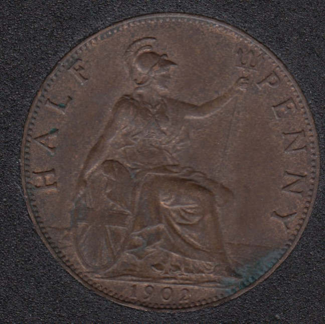 1902 - Half Penny - AU - Great Britain