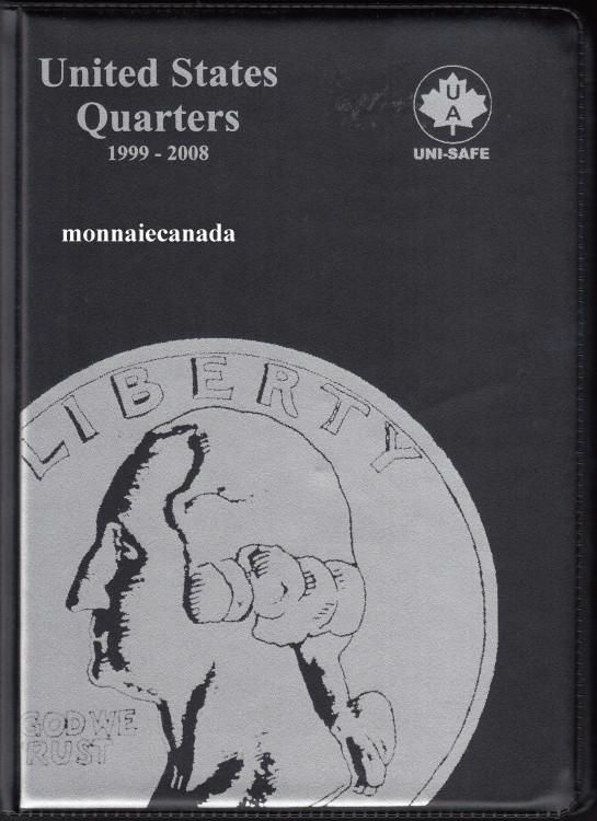 US Coins Album 25 Cents - 1999-2008