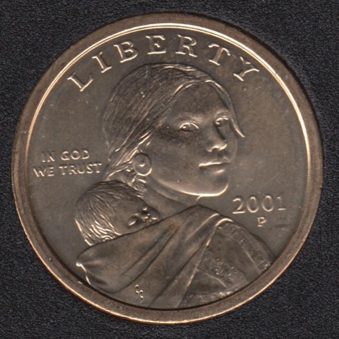 2001 P - Sacagawea - Dollar