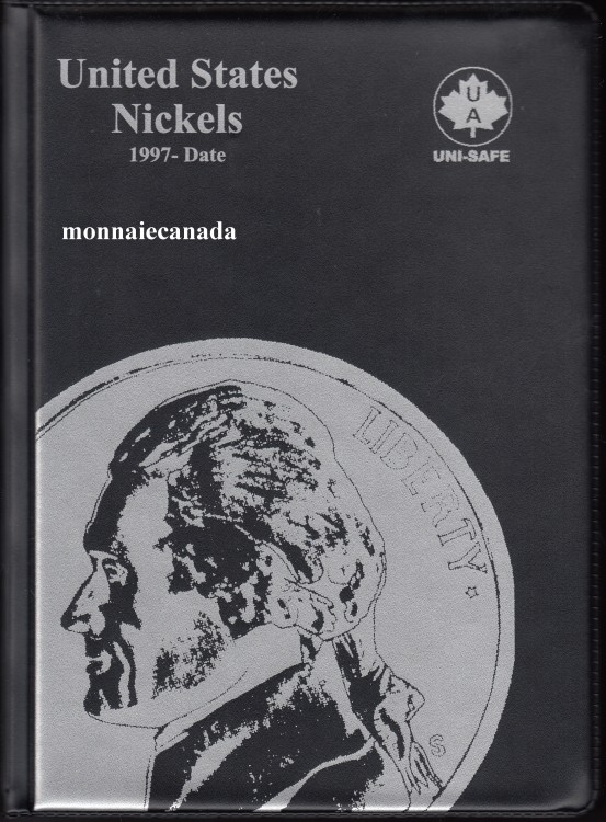 US Coins 5 Cents Album - 1997-Date