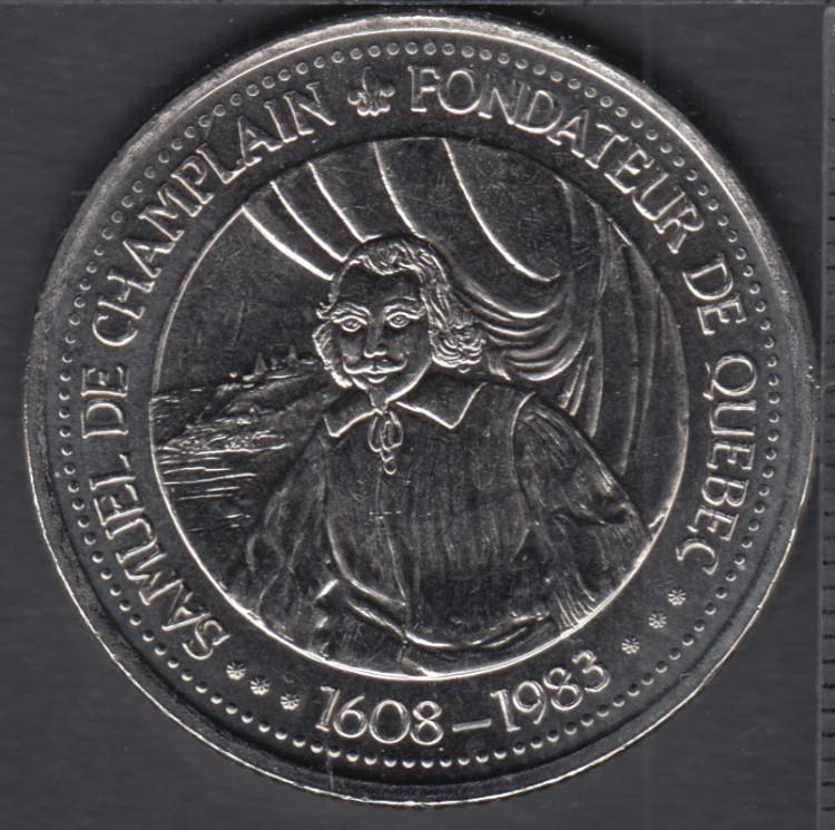 Quebec - Epicerie J.A. Moisan - 1983 - 1608 - Samuel de Champlain - Valeur 30 Sous au Magasin