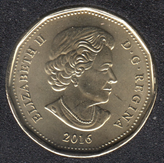 2016 - B.Unc - Canada Huard Dollar
