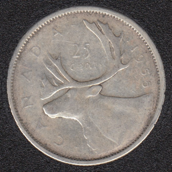 1955 - Canada 25 Cents