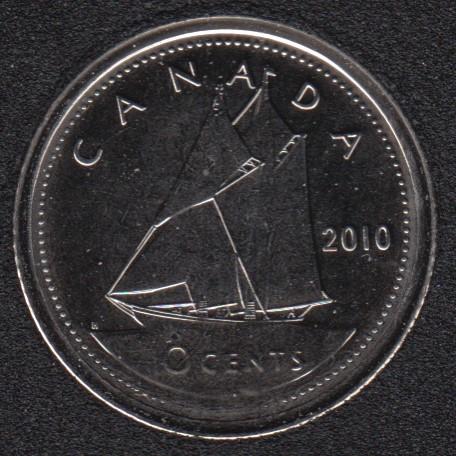 2010 - NBU - Canada 10 Cents