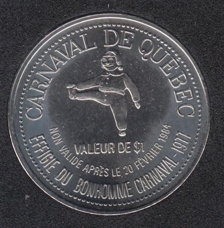 1984 Carnaval de Quebec - Dollar de Commerce