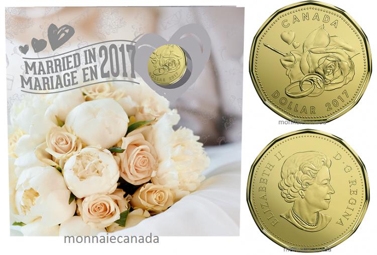 2017 Ensemble Cadeau Mariage Monnaie Canada