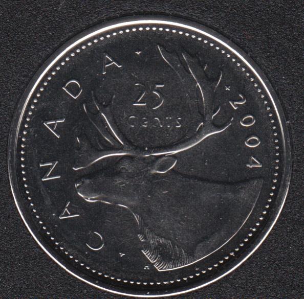 2004 P - NBU - Canada 25 Cents