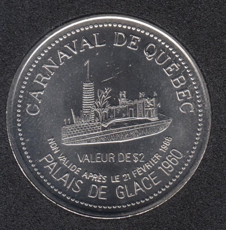1988 Carnaval de Quebec - Dollar de Commerce