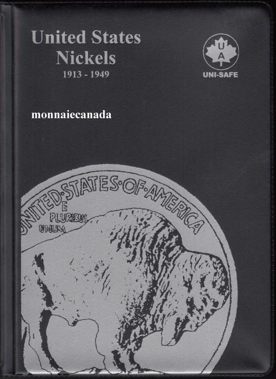 US Coins Album 5 Cents 1913-1949