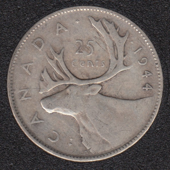 1944 - Canada 25 Cents
