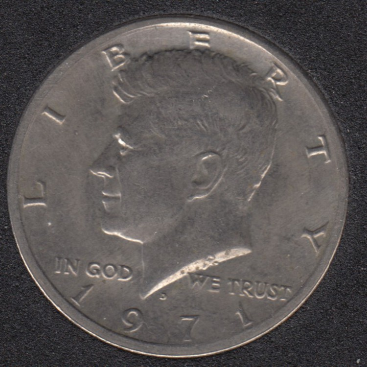 1971 D - Kennedy - 50 Cents
