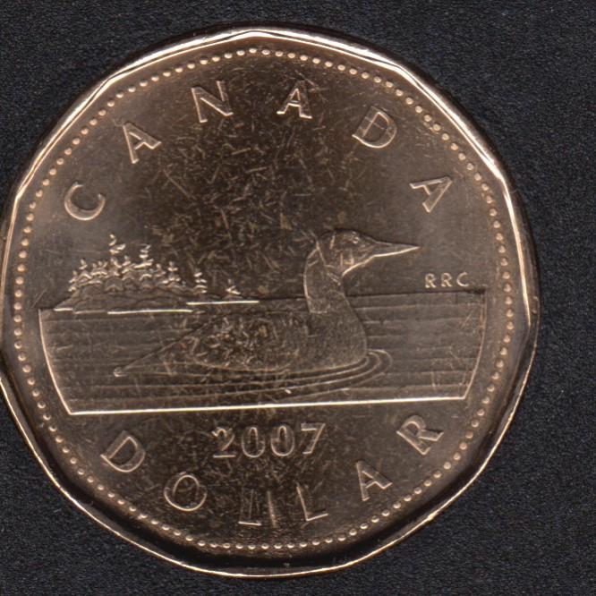 2007 - B.Unc - Canada Huard Dollar