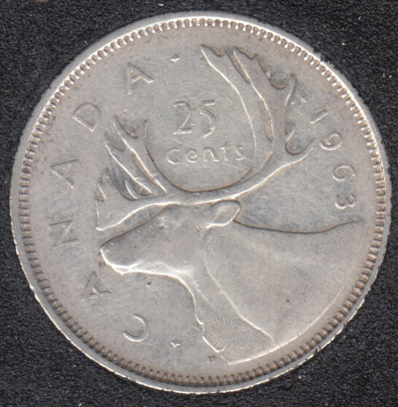 1963 - Canada 25 Cents