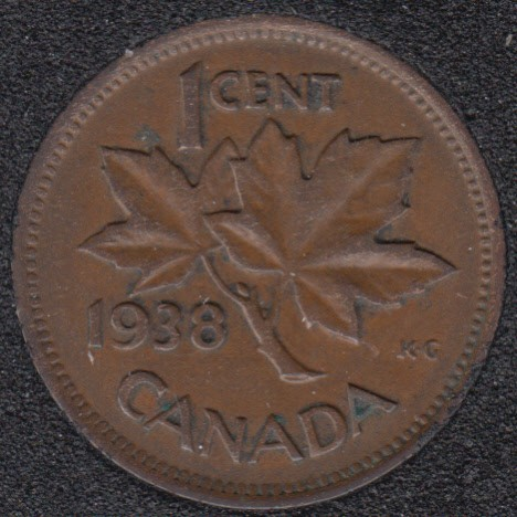 1938 - Canada Cent