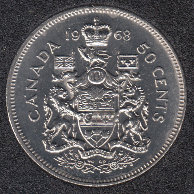 1968 - B.Unc - Canada 50 Cents