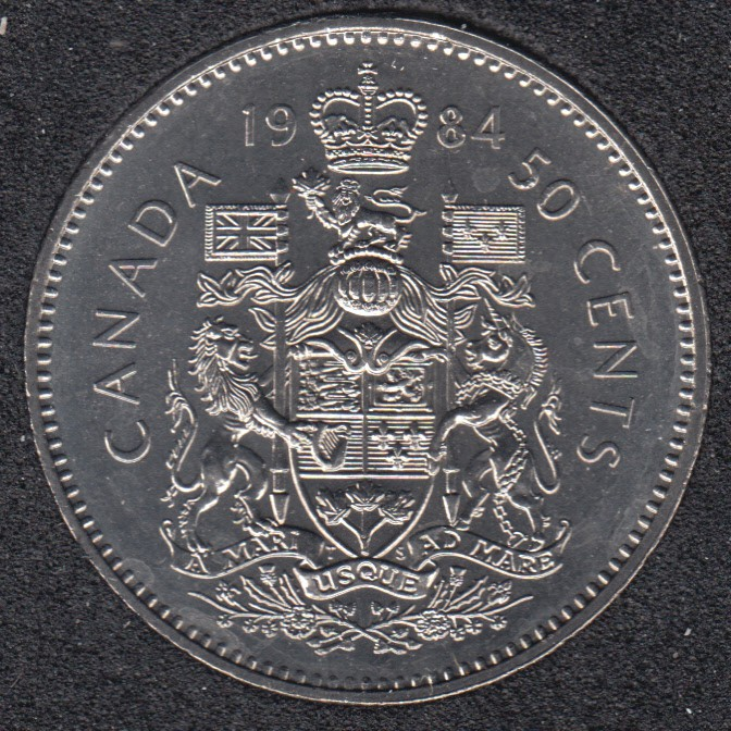 1984 - B.Unc - Canada 50 Cents