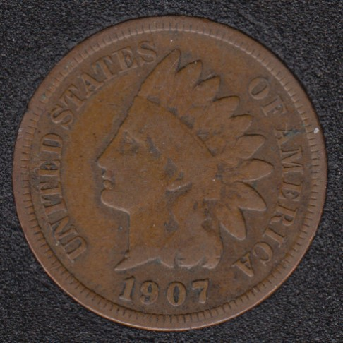 1907 - Indian Head Small Cent