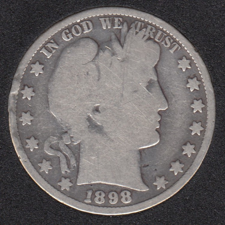 1898 - Barber - 50 Cents