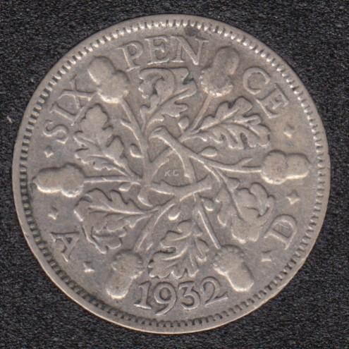 1932 - 6 Pence - Great Britain
