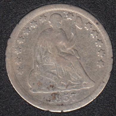 1857 - Liberty Seated - Half Dime