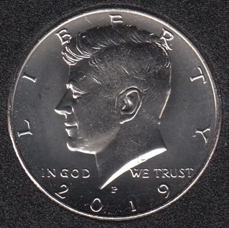 2019 P - Kennedy - 50 Cents