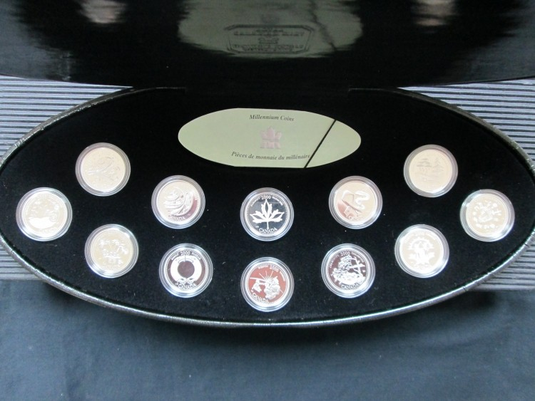 2000 -25 Cents - Sterling Silver Proof Millennium Set