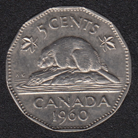 1960 - Canada 5 Cents