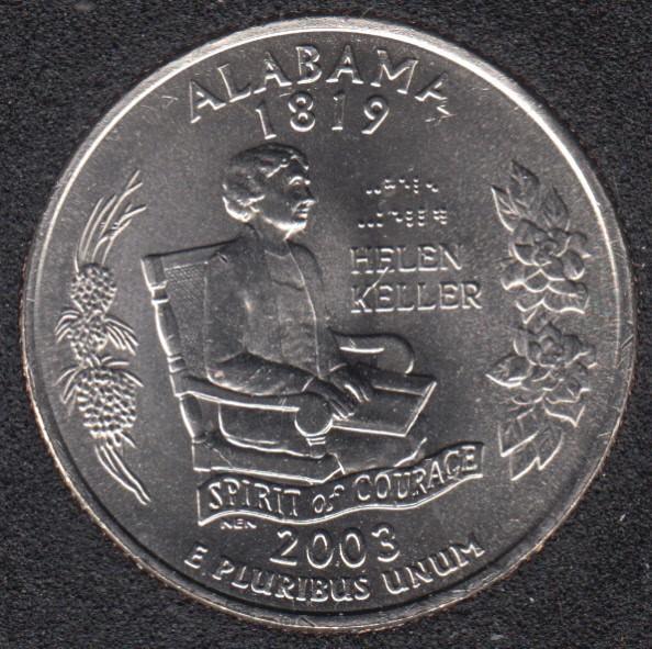2003 D - Alabama - 25 Cents