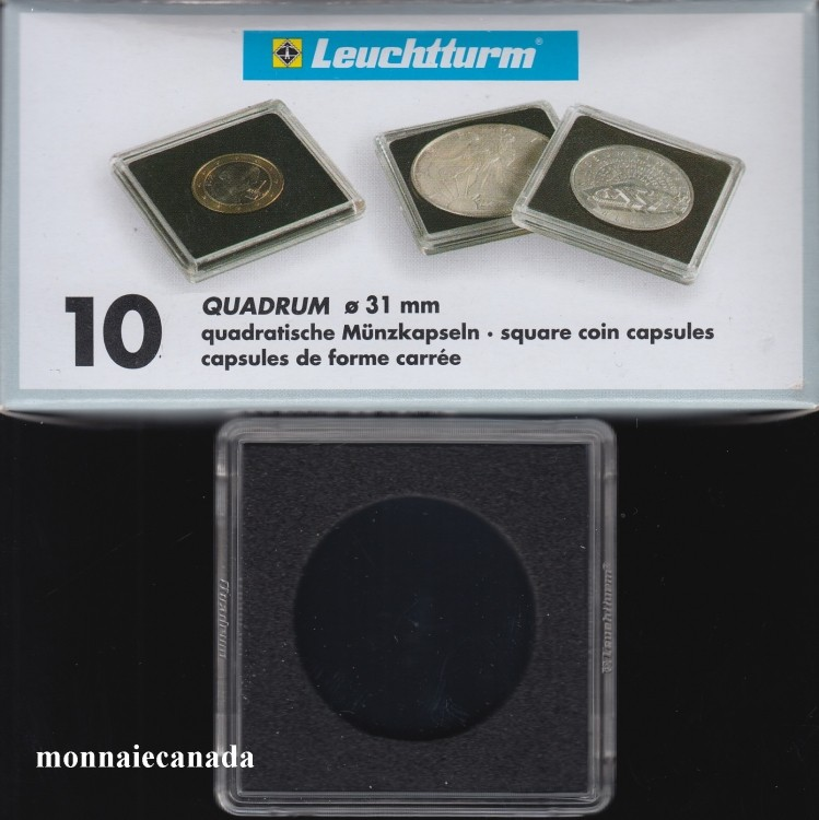 Capsules QUADRUM 31 MM