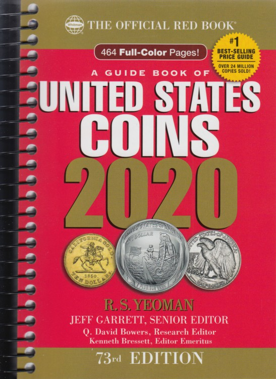 2020 United States Coins - Whitman 73rd Edition - English Version