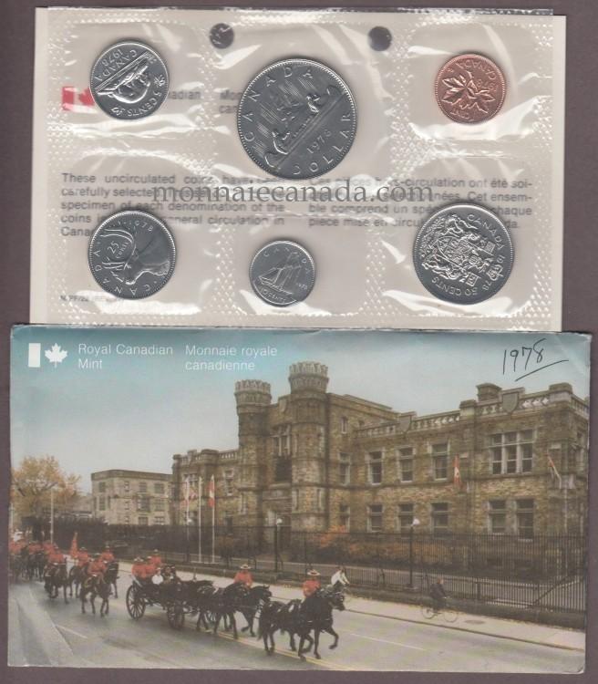 1978 - 50 cents Round Jewels - BRILLIANT UNCIRCULATED SET