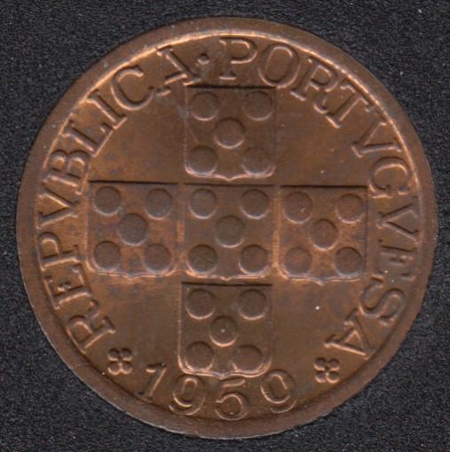 1959 - 20 Centavos - B.Unc - Portugal