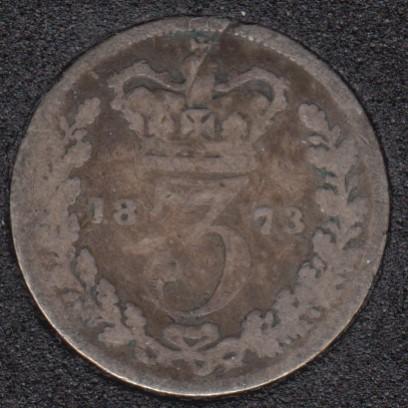 1873 - 3 Pence - Great Britain