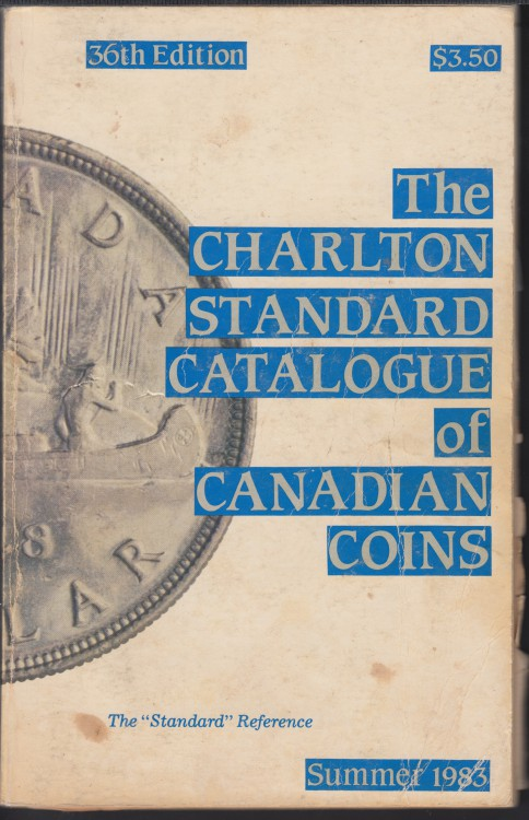 1983 - Charlton - Standard Catalogue of Canadian Coins Summer - Usagé
