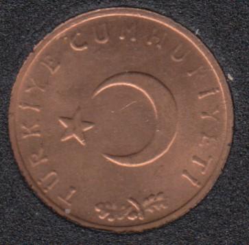 1967 - 1 Kurus - B.Unc - Turquie