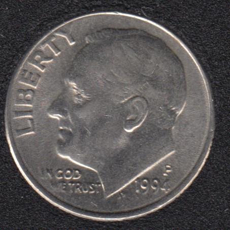 1994 P - Roosevelt - B.Unc - 10 Cents