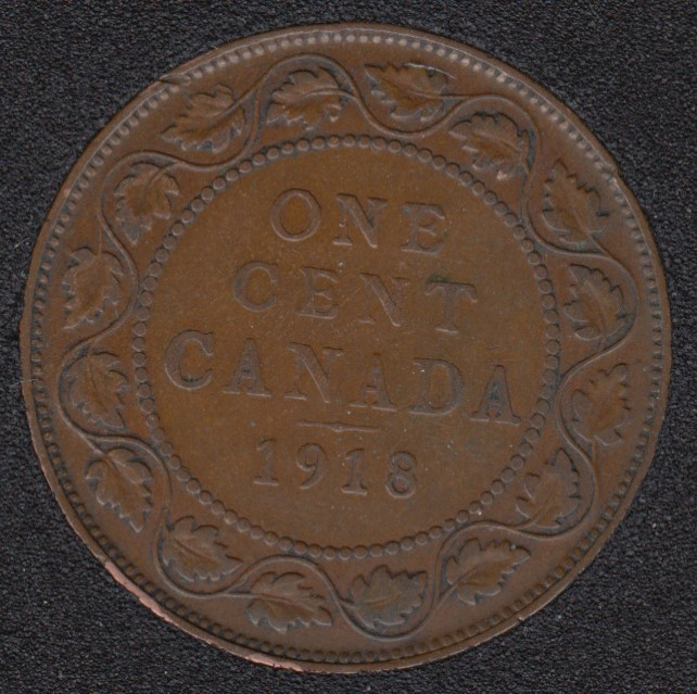 1918 - Canada Large Cent