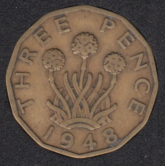 1948 - 3 Pence - Great Britain