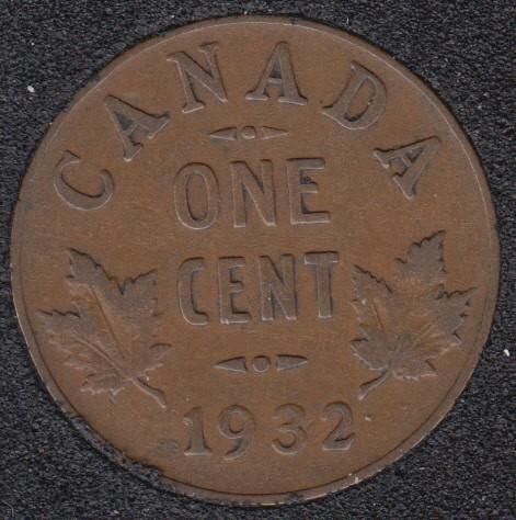 1932 - Canada Cent