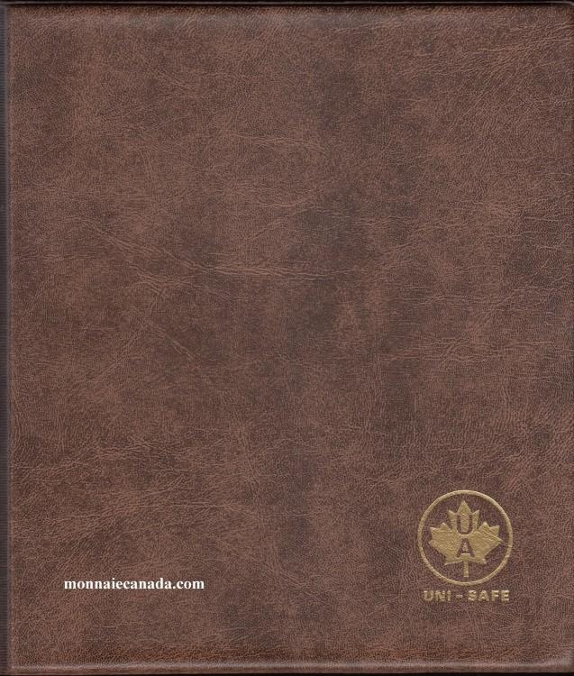 Album Canada Uni-Safe Cartable - Sans Feuille -