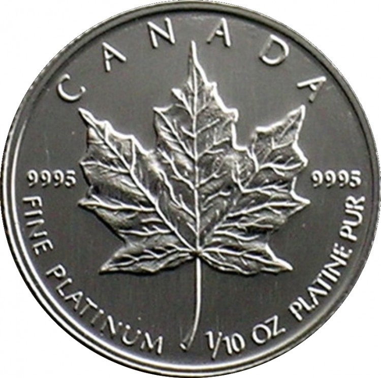 1993 - $5 - B.Unc - .9995 Platinium