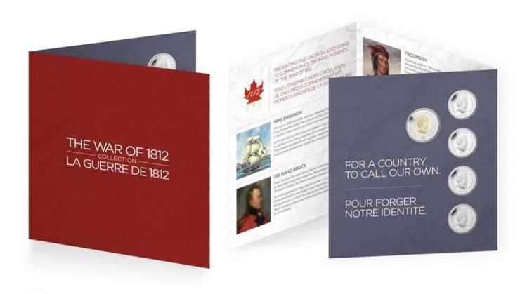 2012 Ensemble Cadeau Commémoratif - La Guerre de 1812