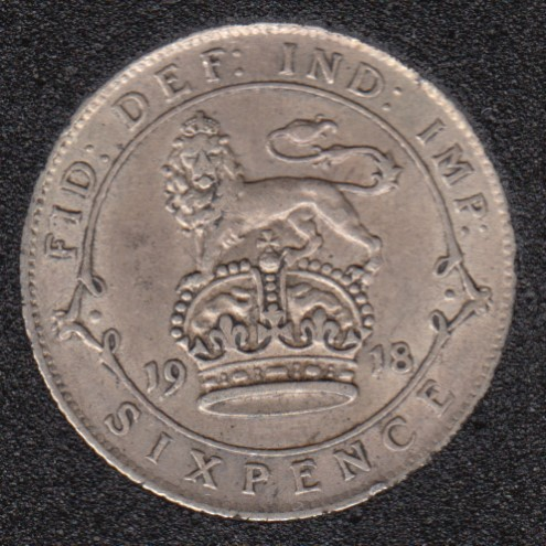 1918 - 6 Pence - Great Britain