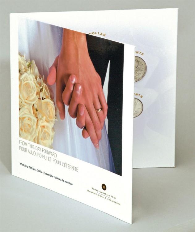 2005 Canada Ensemble Cadeau de Mariage - 7 Pieces