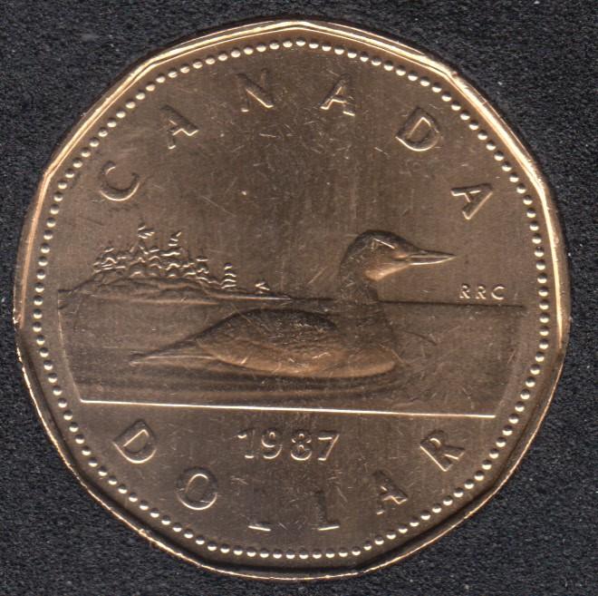 1987 - B.Unc - Canada Huard Dollar