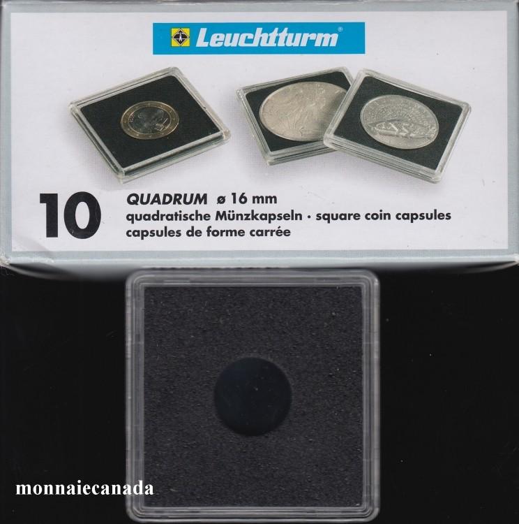 Capsules QUADRUM 16 MM