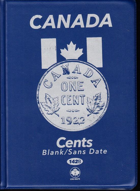 1¢ Album Canada Uni-Safe (Petite Cents) Pas de Date