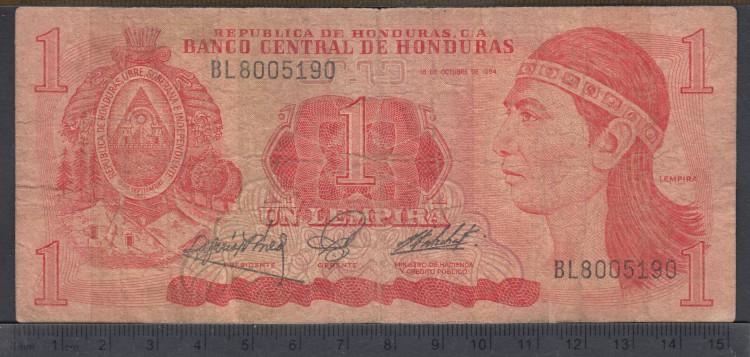 1984 - 1 Lempira - Honduras