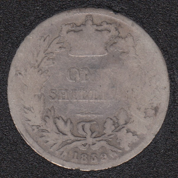 1859 - Shilling - Great Britain